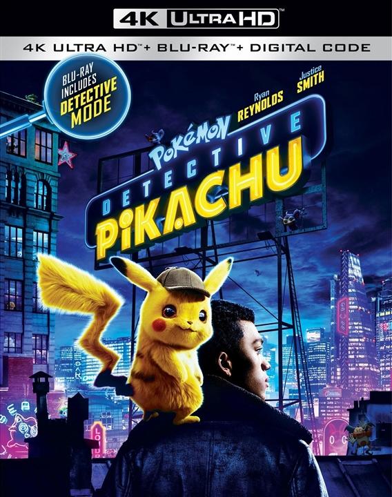 Pokémon: Detective Pikachu (4K Ultra HD Blu-ray)