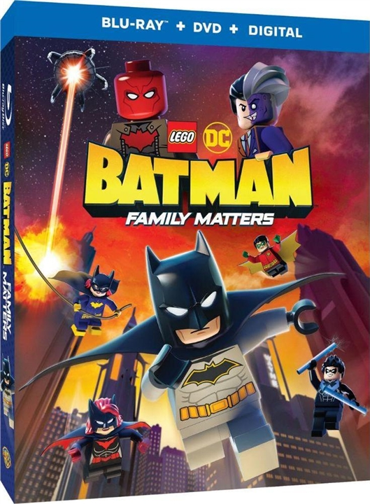 LEGO DC: Batman - Family Matters (+Batmobile Figure)(Blu-ray)(Region Free)