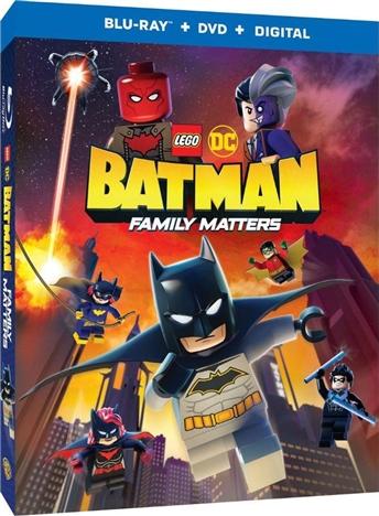 LEGO DC: Batman - Family Matters (+Batmobile Figure)(Blu-ray)(Region Free)(Pre-order / Aug 6)