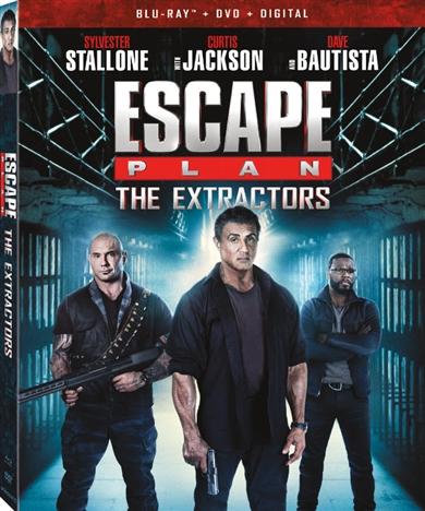 Escape Plan 3: The Extractors (Blu-ray)(Region A)(Pre-order / Jul 2)