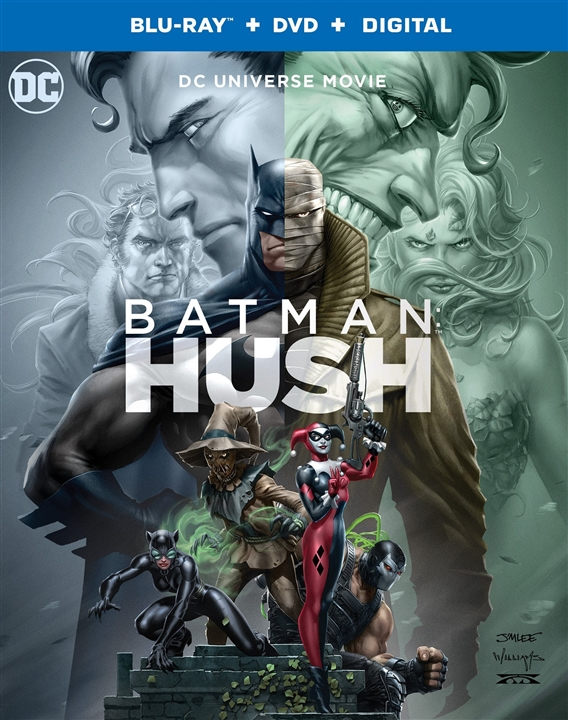 Batman: Hush (Blu-ray)(Region Free)