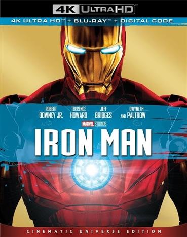 Iron Man (4K Ultra HD Blu-ray)(Pre-order / TBA)