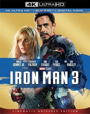 Iron Man 3 (4K Ultra HD Blu-ray)(Pre-order / TBA)