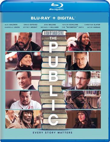 The Public (Blu-ray)(Region A)(Pre-order / Jul 2)