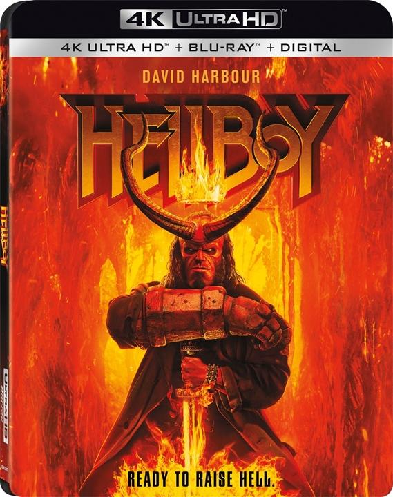 Hellboy (2019)(4K Ultra HD Blu-ray)(Pre-order / Jul 23)