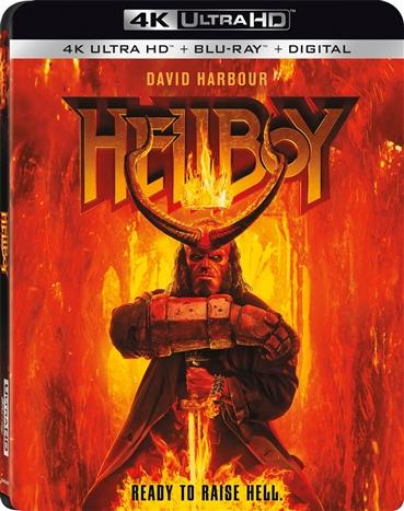 Hellboy (2019)(4K Ultra HD Blu-ray)(Pre-order / TBA)