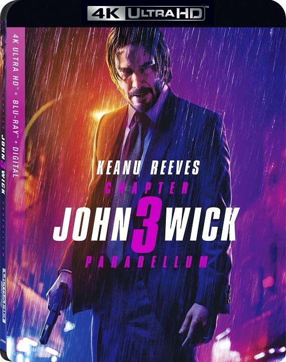 John Wick: Chapter 3 - Parabellum (4K Ultra HD Blu-ray)(Pre-order / TBA)