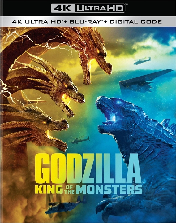 Godzilla: King of the Monsters (4K Ultra HD Blu-ray)(Pre-order / TBA)