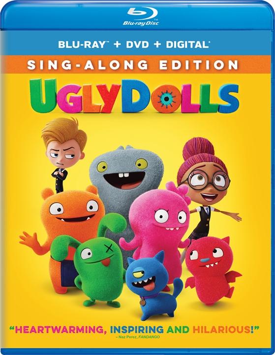 UglyDolls (Blu-ray)(Region A)(Pre-order / Jul 30)