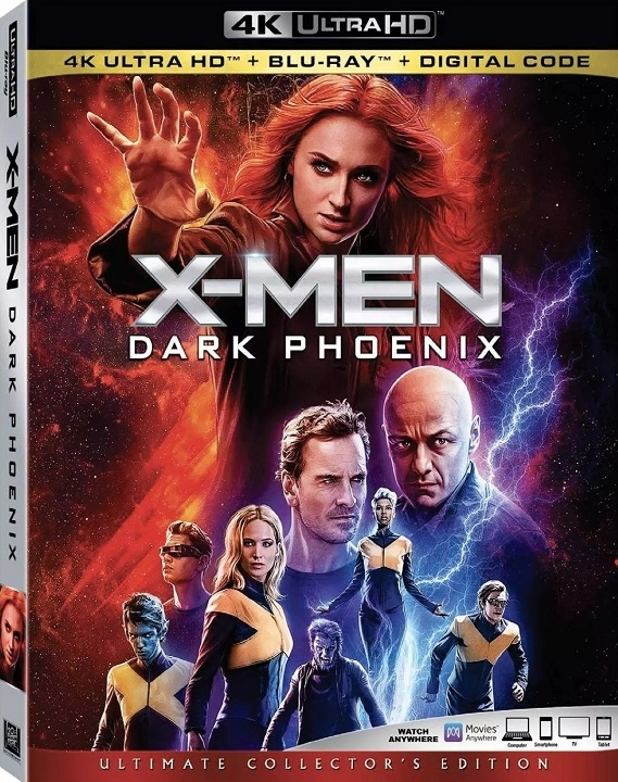 X-Men: Dark Phoenix (4K Ultra HD Blu-ray)(Pre-order / Sep 17)