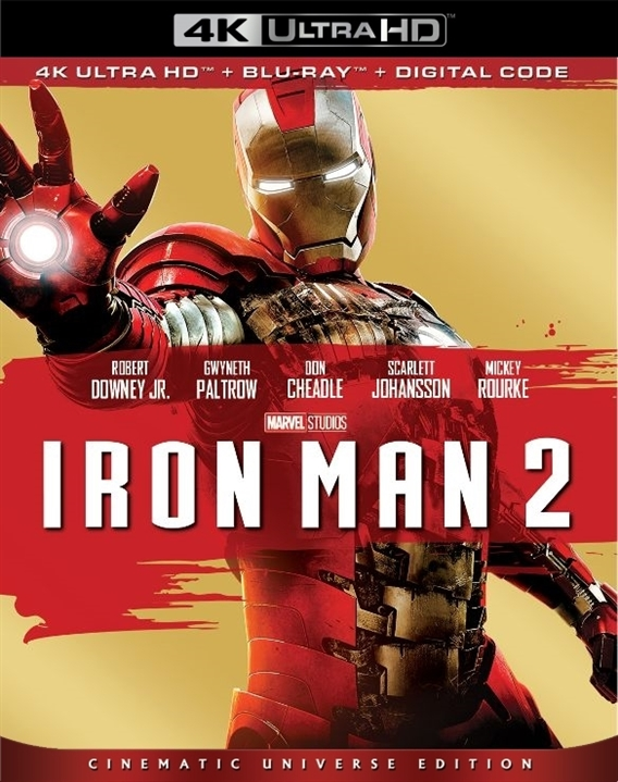 Iron Man 2 (4K Ultra HD Blu-ray)