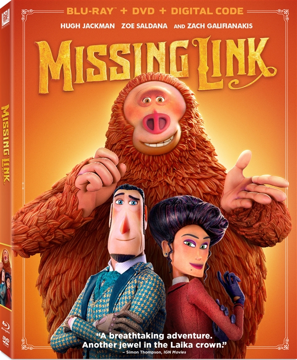 Missing Link (Blu-ray)(Region A)