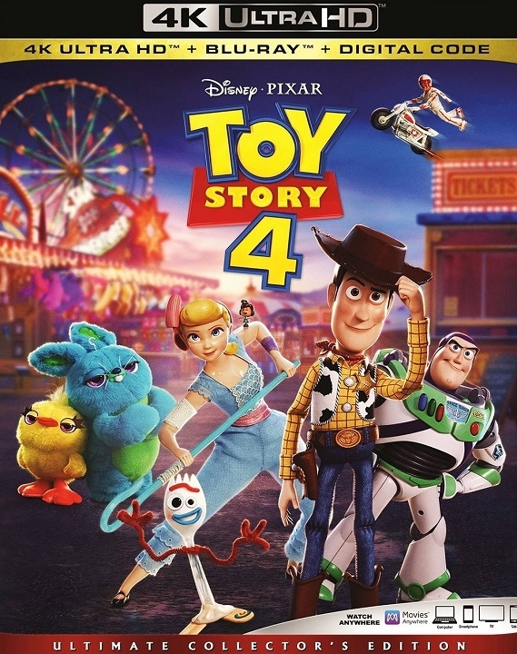 Toy Story 4 (4K Ultra HD Blu-ray)(Pre-order / Oct 8)