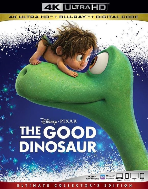 The Good Dinosaur (4K Ultra HD Blu-ray)(Pre-order / Sep 10)