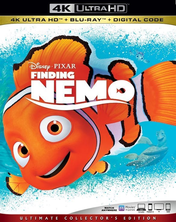 Finding Nemo (4K Ultra HD Blu-ray)(Pre-order / Sep 10)