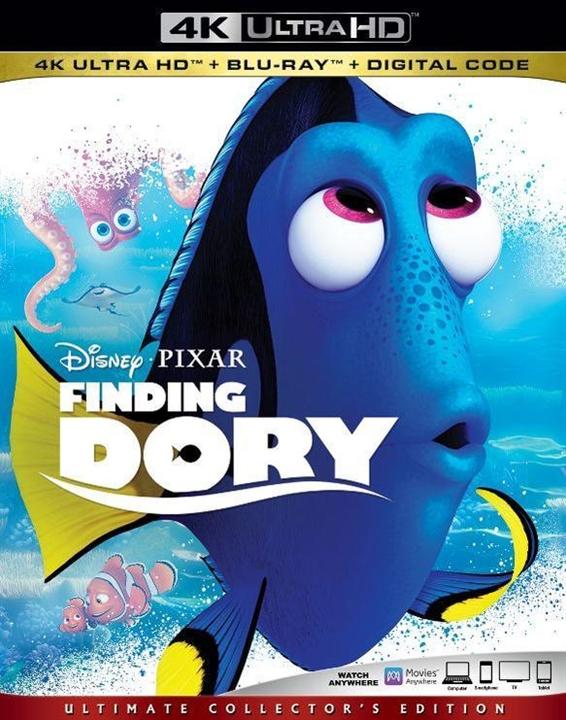 Finding Dory (4K Ultra HD Blu-ray)