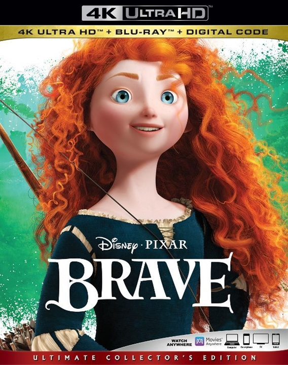 Brave (4K Ultra HD Blu-ray)