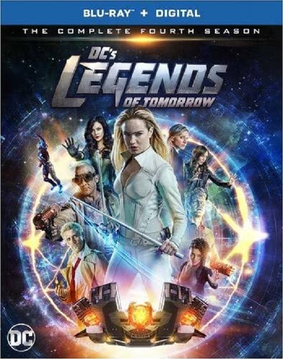 DC's Legends of Tomorrow: The Complete Fourth Season (Blu-ray)(Region Free)