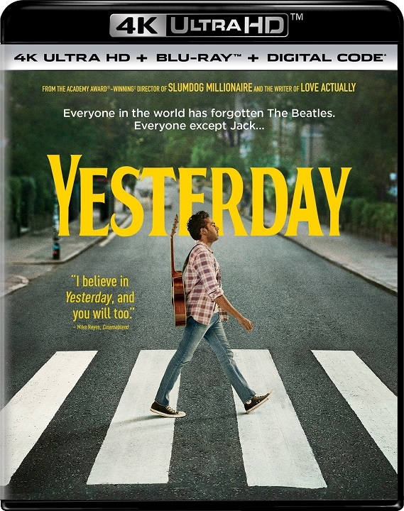 Yesterday (4K Ultra HD Blu-ray)(Pre-order / Sep 24)