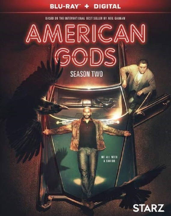 American Gods: Season 2 (Blu-ray)(Region A)(Pre-order / Aug 20)