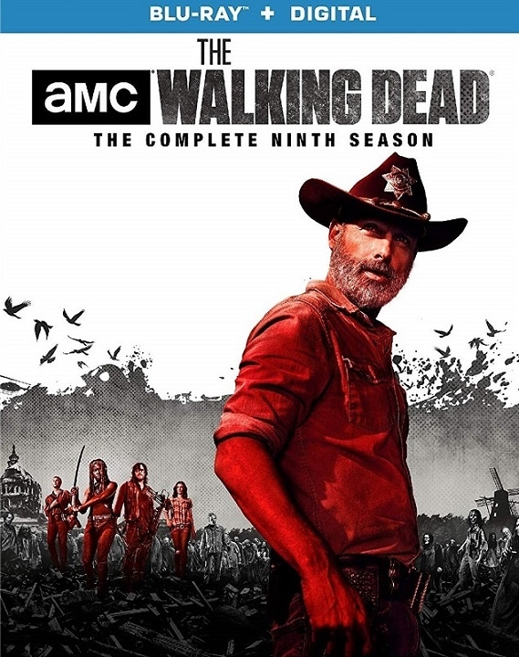 The Walking Dead: The Complete Ninth Season (Blu-ray)(Region A)(Pre-order / Aug 20)