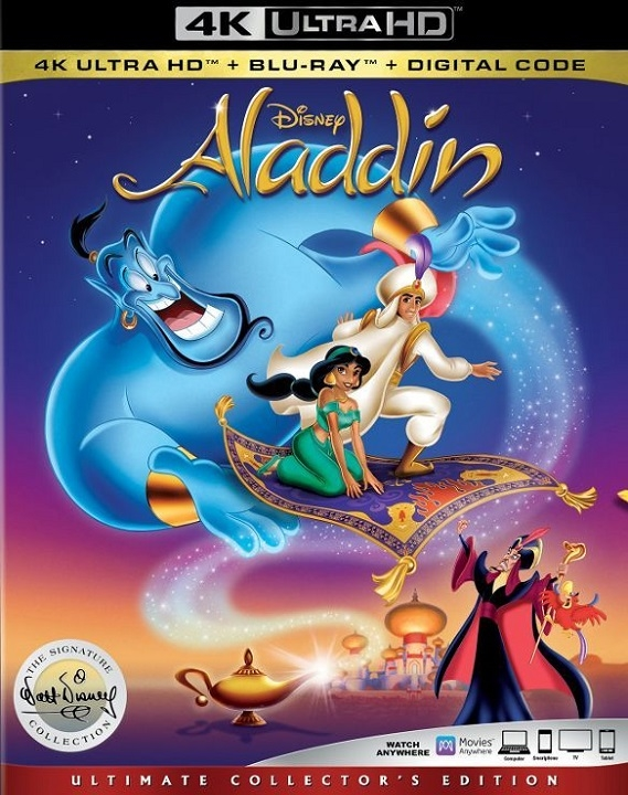 Aladdin (1992)(Signature Collection)(4K Ultra HD Blu-ray)(Pre-order / Sep 10)