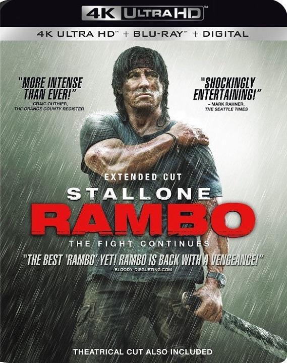 Rambo (2008)(4K Ultra HD Blu-ray)(Pre-order / Sep 3)