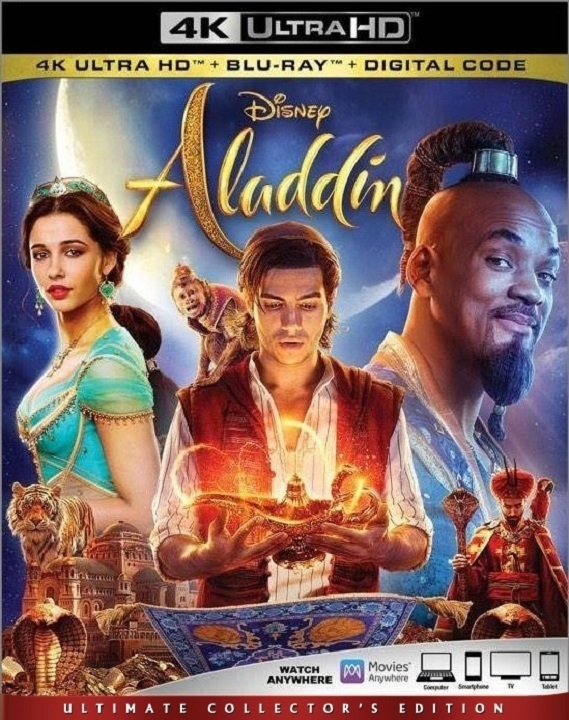 Aladdin (Live Action)(4K Ultra HD Blu-ray)(Pre-order / Sep 10)