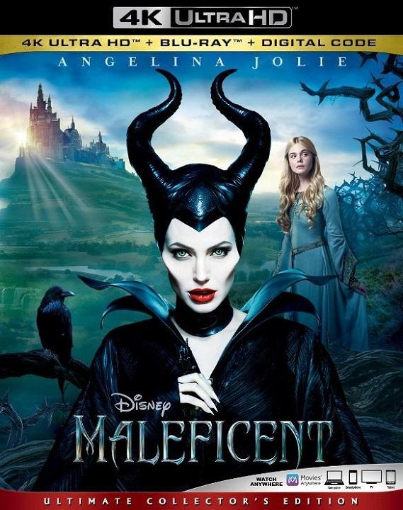 Maleficent (4K Ultra HD Blu-ray)(Pre-order / TBA)