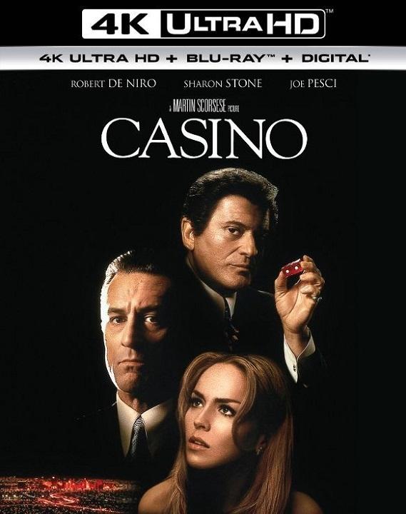 Casino (4K Ultra HD Blu-ray)(Pre-order / Sep 10)