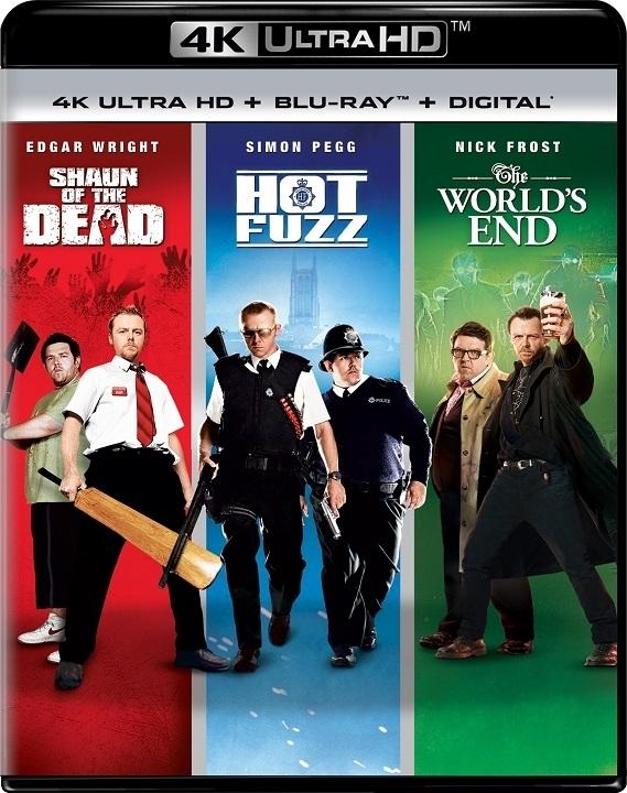 The Three Flavors Cornetto Trilogy (4K Ultra HD Blu-ray)(Pre-order / Sep 10)