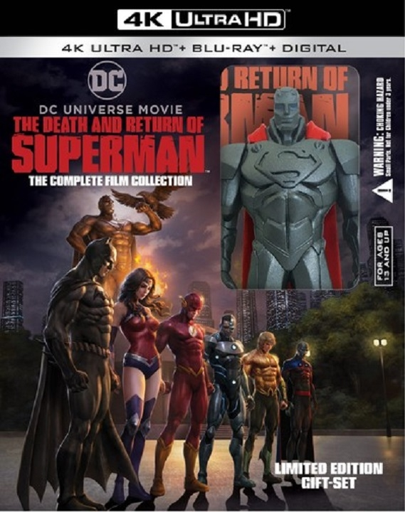 Death and Return of Superman (Complete Film Collection)(4K Ultra HD Blu-ray)