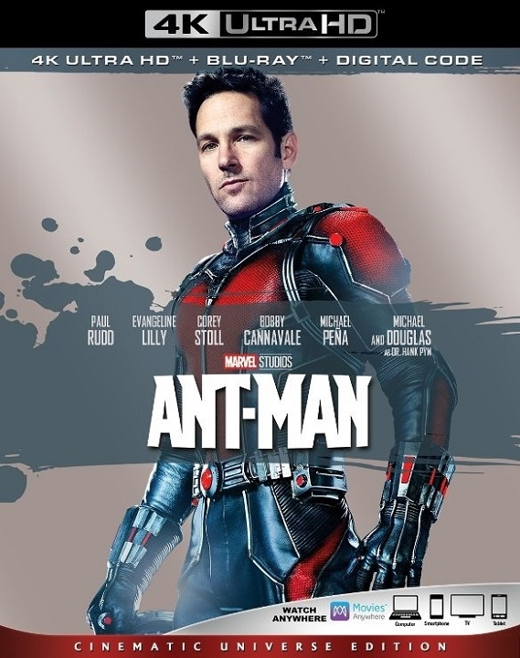 Ant-Man (4K Ultra HD Blu-ray)(Pre-order / TBA)