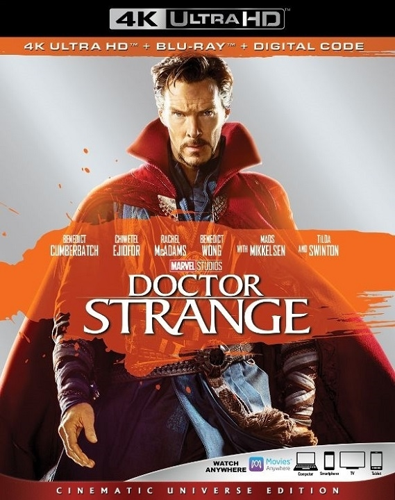 Doctor Strange (4K Ultra HD Blu-ray)(Pre-order / Oct 1)