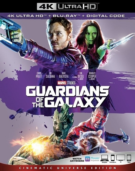 Guardians of the Galaxy (4K Ultra HD Blu-ray)