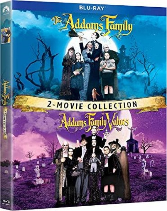 The Addams Family / Addams Family Values (Blu-ray)(Region A)