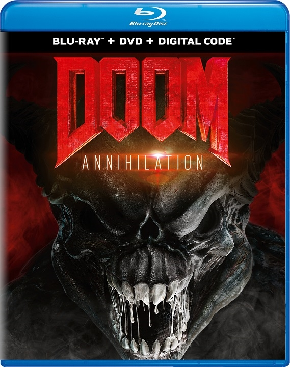Doom: Annihilation (Blu-ray)(Region A)(Pre-order / Oct 1)