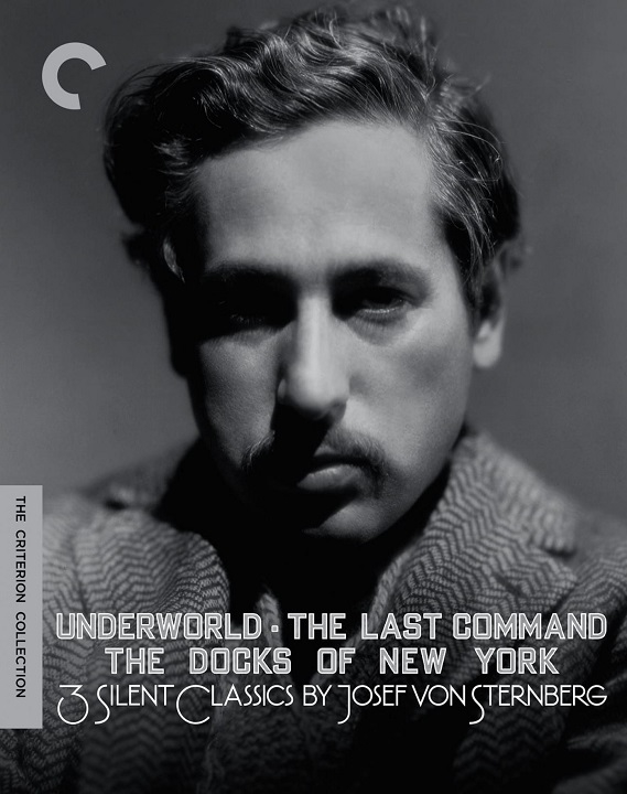 3 Silent Classics by Josef von Sternberg (DigiPack)(The Criterion Collection)(Blu-ray)(Region A)(Pre-order / Oct 8)