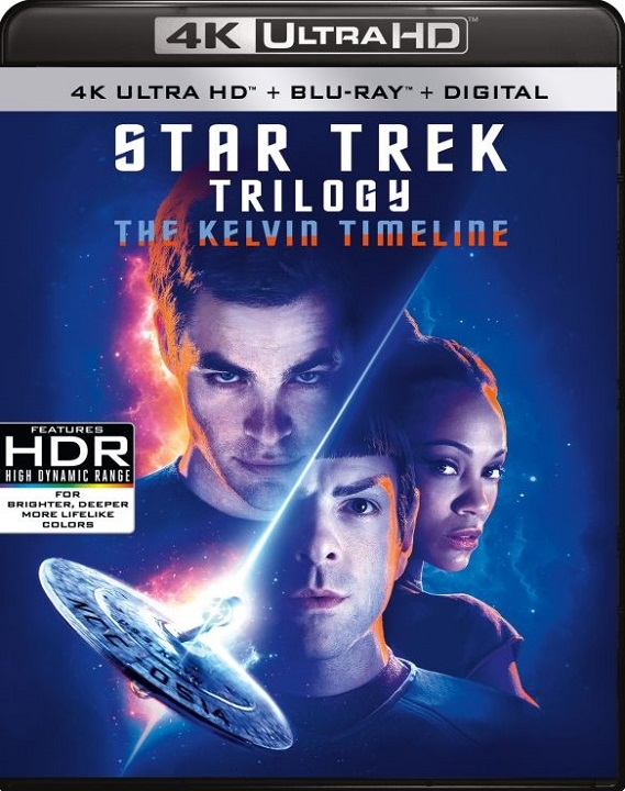 Star Trek Trilogy (The Kelvin Timeline)(4K Ultra HD Blu-ray)
