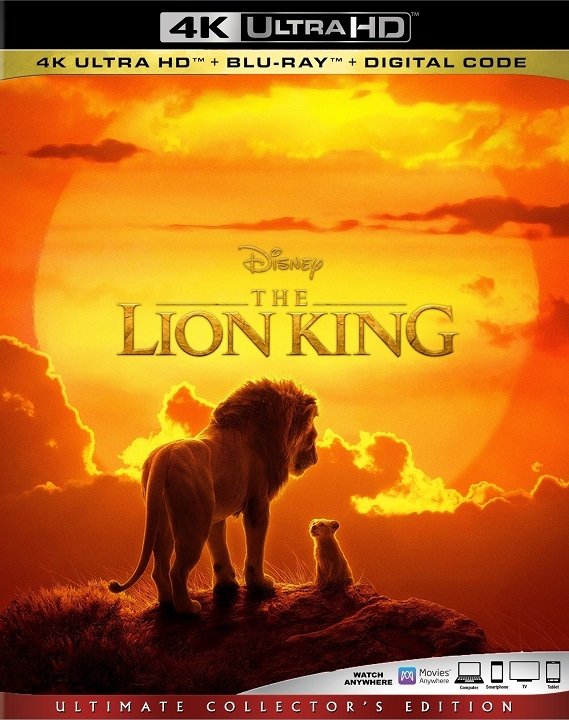 The Lion King 4K (2019)(Live Action) Ultra HD Blu-ray