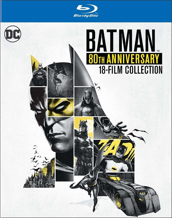 Batman: 80th Anniversary 18-Film Collection (Blu-ray)(Region Free)(Pre-order / Sep 3)