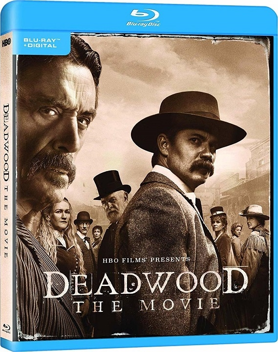 Deadwood: The Movie (Blu-ray)(Region Free)(Pre-order / Oct 8)