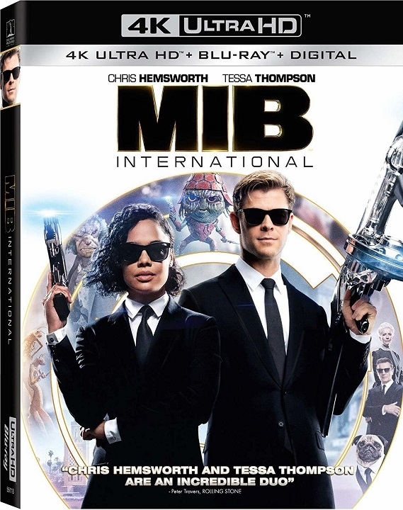 Men in Black: International (4K Ultra HD Blu-ray)(Pre-order / Sep 3)
