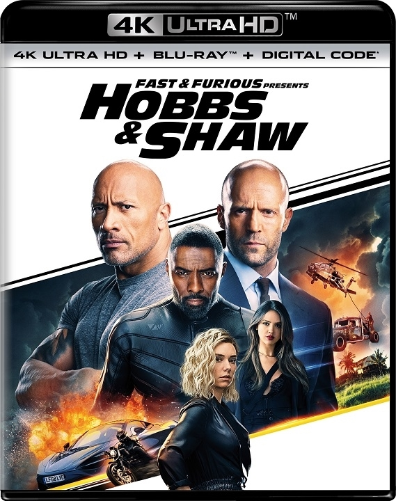 Fast & Furious Presents: Hobbs & Shaw (4K Ultra HD Blu-ray)
