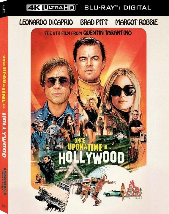 Once Upon a Time in Hollywood 4K Ultra HD Blu ray