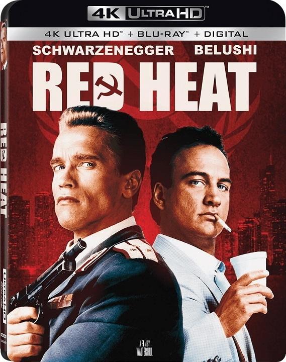 Red Heat (4K Ultra HD Blu-ray)(Pre-order / Oct 8)