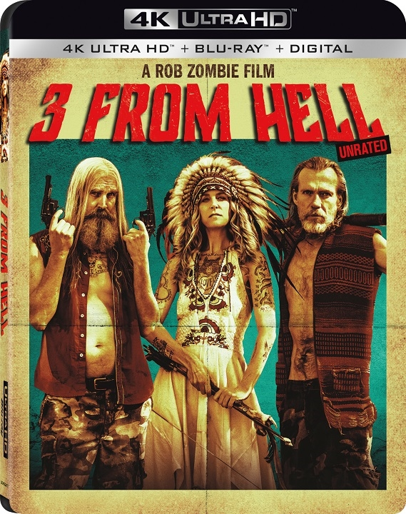 3 from Hell 4K (2019) Ultra HD