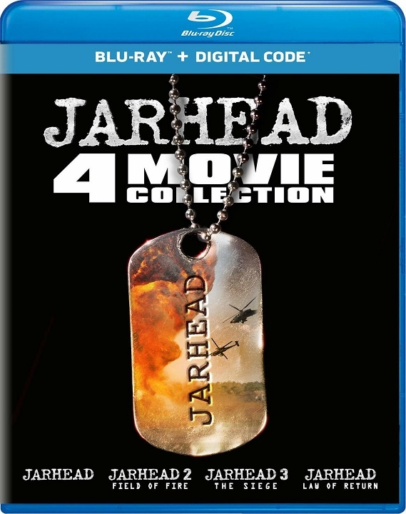 Jarhead: 4 Movie Collection (Blu-ray)(Region Free)(Pre-order / Oct 1)