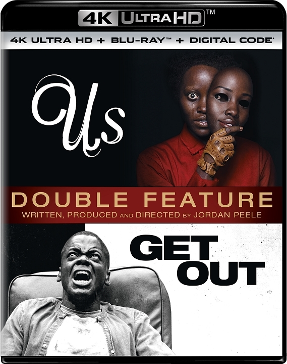 Us/Get Out (Double Feature)(4K Ultra HD Blu-ray)
