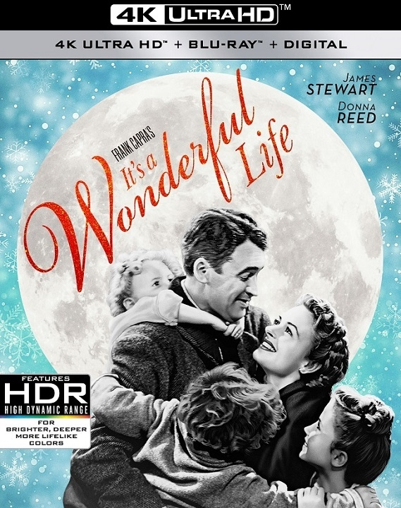 Its a Wonderful Life 4K (1946) Ultra HD Blu-ray